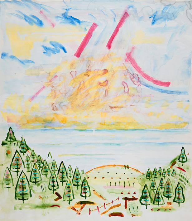 Sky Landscape 045