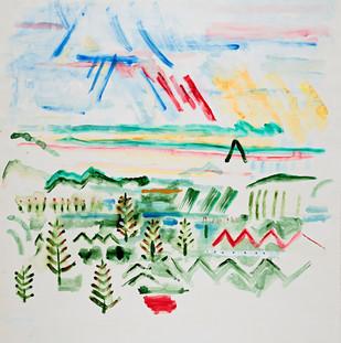 Sky Landscape 043