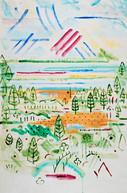 Sky Landscape 036