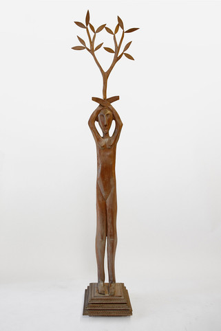 Woman with Branch Tramp Base