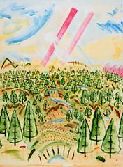 Sky Landscape 039