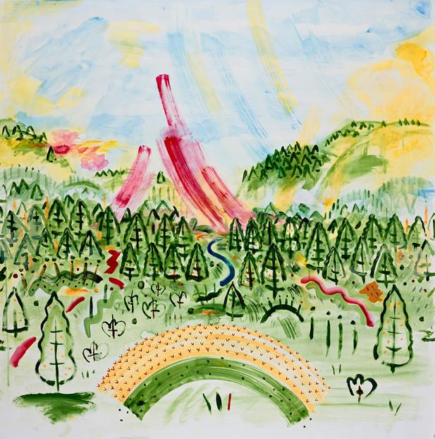 Sky Landscape 044
