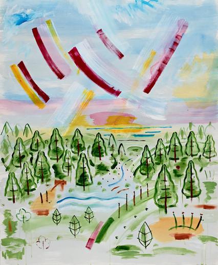 Sky Landscape 032