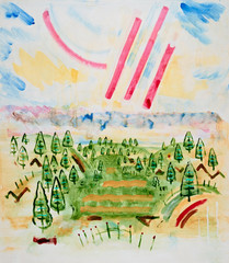 Sky Landscape 038