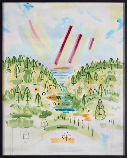 Sky Landscape F45