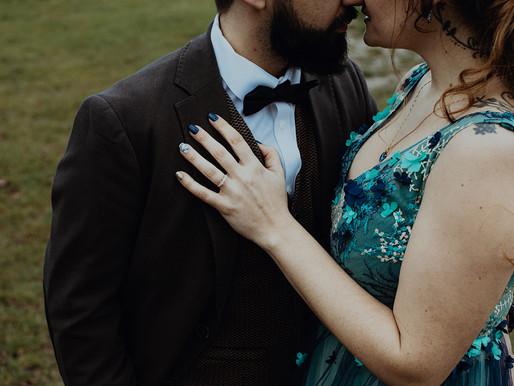 Un mariage d'hiver authentique et éthique