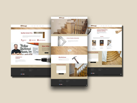 Website Design, Video, and Photography for Vagher Hardwood Floors