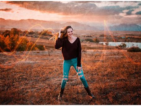 Arvada, Colorado Senior Photos at Standley Lake for Ralston Valley High School