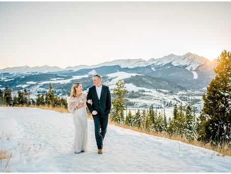 Jarod and Adina's Colorado Mountain Elopement at Sapphire Point