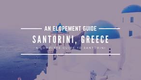 How to Elope in Santorini, Greece