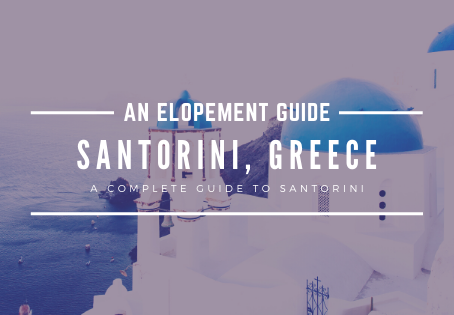 How to Elope in Santorini, Greece