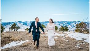 Intimate Wedding in Highlands Ranch, Colorado