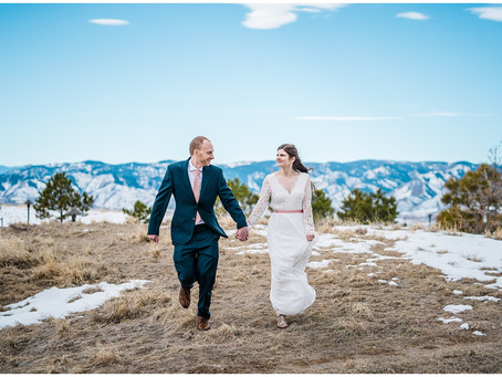 Intimate Wedding in Highlands Ranch, Colorado