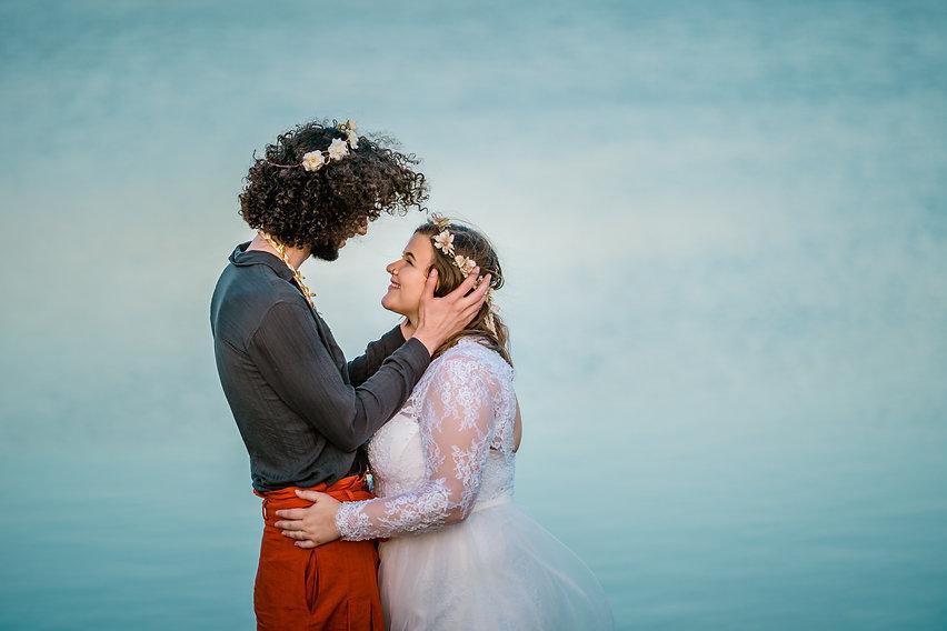 Sam and Andrew Micro Wedding Thornton Co