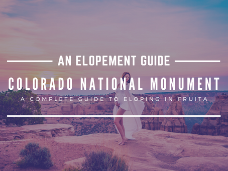 How to Elope at Colorado National Monument
