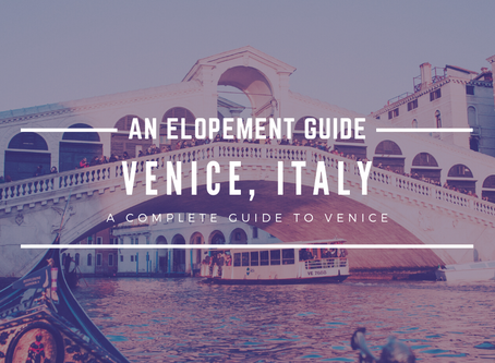 Why You Should Elope In Venice, Italy