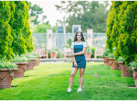 Senior Photos at the Denver Botanic Gardens
