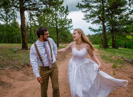 Woodland Park, Lutheran Valley Retreat Wedding