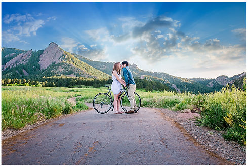 Enagement Photos Flagstaff Mountain Merc