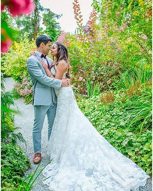 Seattle Washington Wedding Botanic Garde