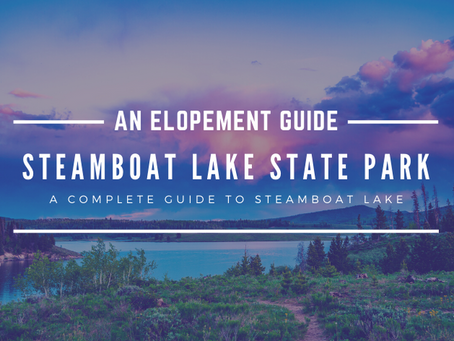 How to Elope at Steamboat Lake State Park