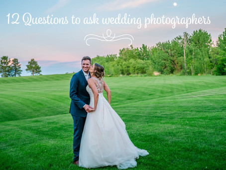 What to ask a wedding photographer? 12 Questions to ask wedding photographers before you hire: