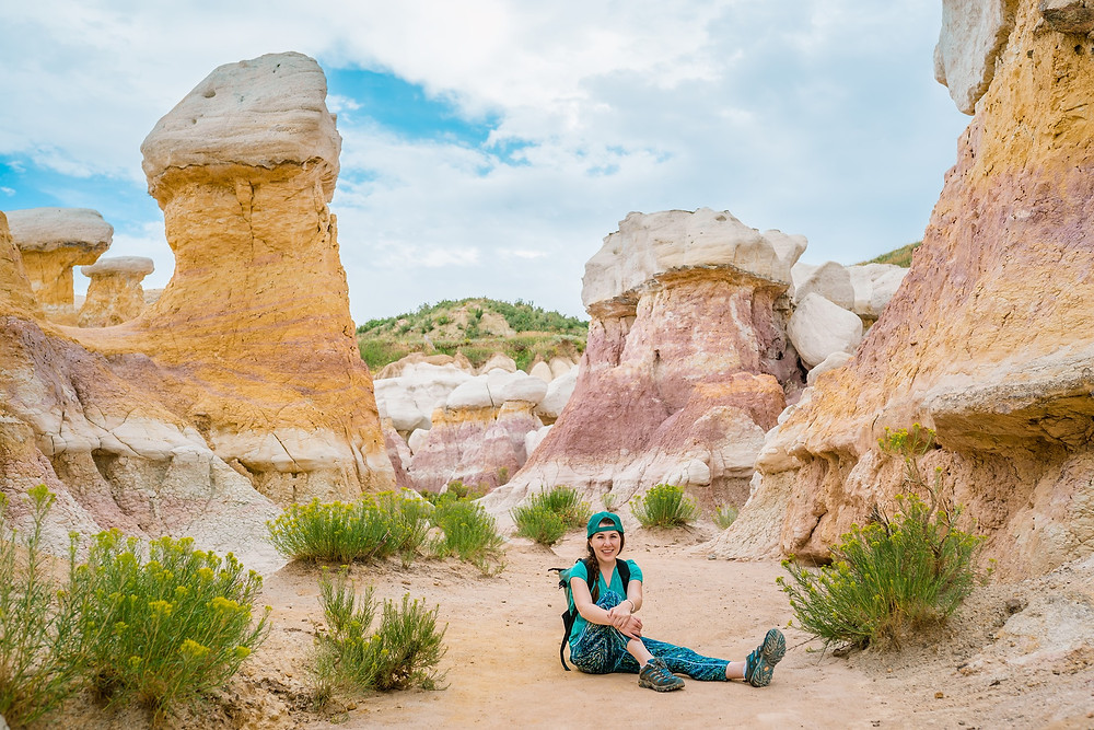 Me at the Paint Mines Interpretive Park in Calhan, Colorado