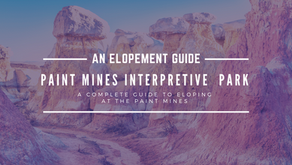 How to Elope at the Paint Mines Interpretive Park in Calhan, Colorado