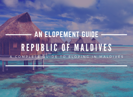 How to Elope in the Maldives