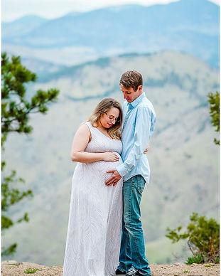 lookout mountain maternity photos golden