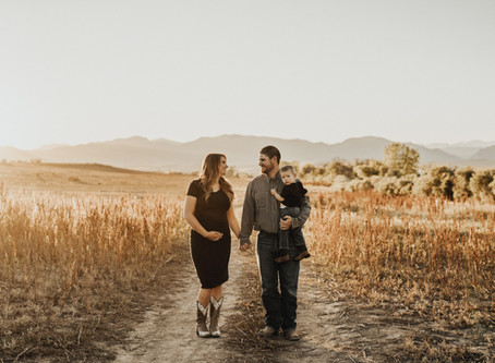 Family Photos at Stanley Lake, Westminster, Colorado