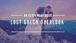 How to Elope at Lost Gulch Overlook in Boulder, Colorado