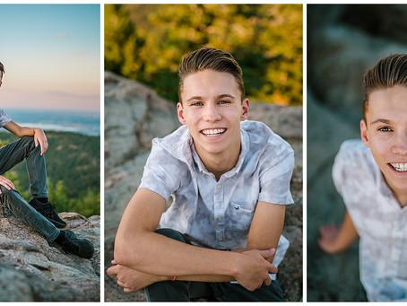 Senior Photos at Lost Gulch