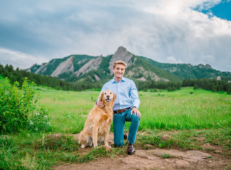 Matt's Senior Photos in Boulder