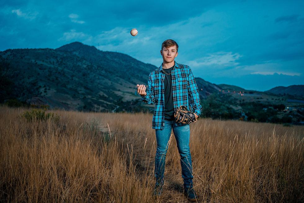 Destry Senior Photo Denver Colorado Cass