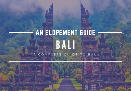 How to Elope in Bali