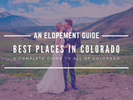 Places to Elope In Colorado