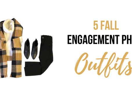 5 Fall Engagement Photo Outfits