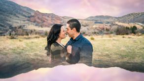 Redrocks Amphitheater Engagement Photos