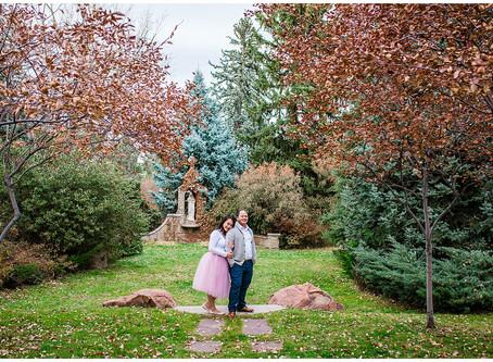 Regis University Engagement Photos, Denver Colorado