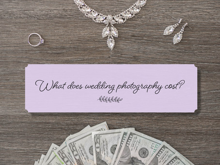 What does wedding photography cost?