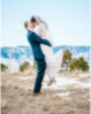 Intimate Winter Wedding Highlands Ranch