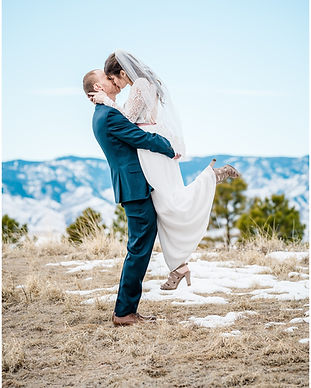 Intimate Winter Wedding Highlands Ranch