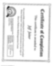 Jeff Joiner Mold Certification.jpg