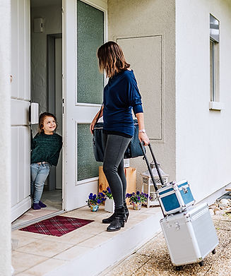 Coiffeuse, Coiffeur at home, zu Hause, Solothurn, Sabrina Burri