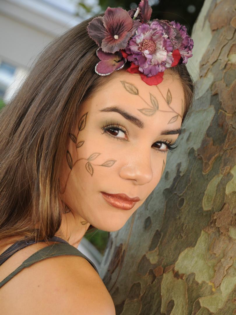 Flower Make-up