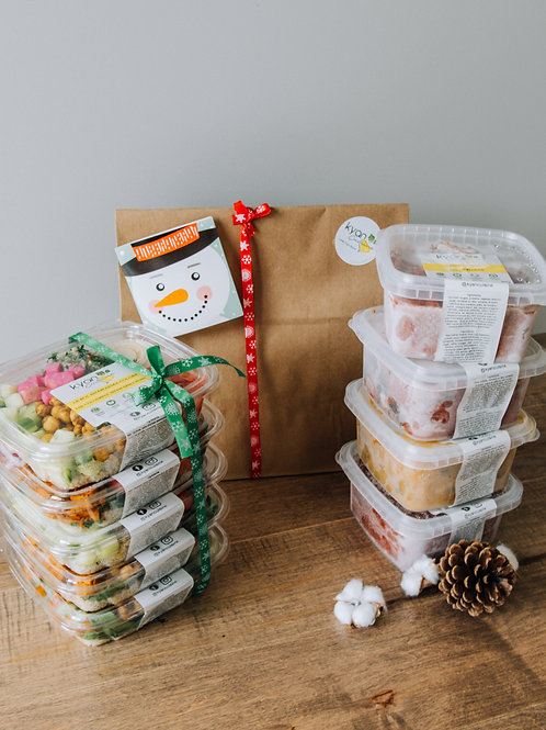 Kyan Cuisine's Holiday Gift Package - 5 Buddha Bowls + 4 Frozen Meals