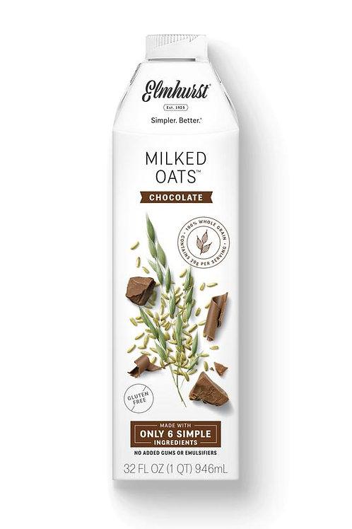 Elmhurst Milked Oats Chocolate