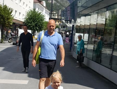 Z Rakouska do Švýcarska (jen pro rodinu, jinak celkem nuda)