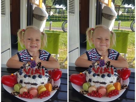 Třetí narozeniny a pěkná dávka emocí